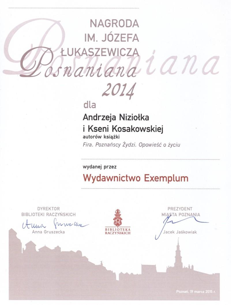 Konkurs J Lukaszewicza