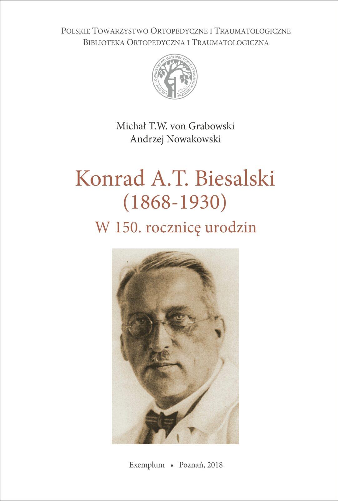 Konrad Biesalski_okladka
